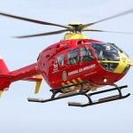 Cornwall Air Ambulance in action